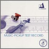 ミュージックピックアップ テストレコード 33rpm 180g LP