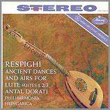 レスピーギ:リュートの為の古代舞曲とアリア 45rpm 180g 2LP 未発売