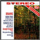 ブラームス:ヴァイオリン、ホルン、ピアノの為の三重奏曲  33rpm LP