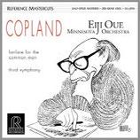 コープランド:交響曲第3番 他 33rpm 200g LP