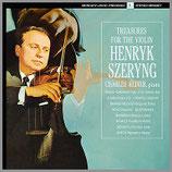 ヘンリク・シェリング:ヴァイオリンの宝物 33rpm 180g LP