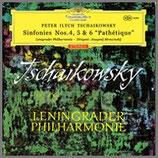 チャイコフスキー:交響曲 第 4番 5番 6番《悲愴》 33rpm 180g 3LP