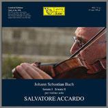 J.S.バッハ:無伴奏Vnの為のソナタ第1番・第2番 33rpm 180g LP