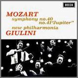モーツァルト:交響曲 第40番 ト短調 他 33rpm 180g LP