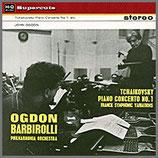 チャイコフスキー:ピアノ協奏曲第1番 変ロ短調 33rpm 180g LP