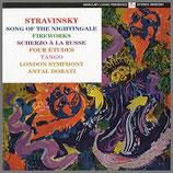 ストラビンスキー:夜鳴き鶯の歌 他 33rpm 180g LP