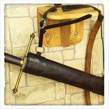 1,5h/m Lederschwertscheide / Fourreau d'épée en cuir WG deluxe (Wyvern)