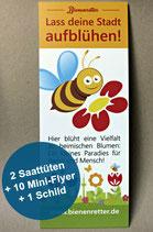 """Bienenweide-Set """"Lass deine Stadt aufblühen!"""""""