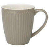 GreenGate - Mug Alice, warm grey