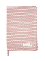 Krasilnikoff - Tea Towel, Micro Dots Dusty Pink