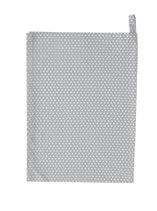 Krasilnikoff - Tea Towel, Micro Dots Grey