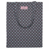 GreenGate - Bag Cotton Victoria, dark grey