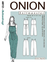 6012 - Overall/ Jumpsuit