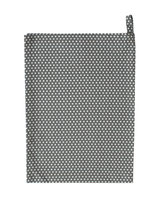 Krasilnikoff - Tea Towel, Micro Dots Charcoal