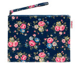CK - Latimer Rose Zip Purse, Dark Navy
