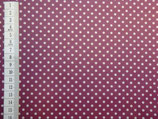Laminated Cotton - Dots Beere