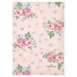 GreenGate - Tea towel, Marley pale pink