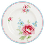 GreenGate - Small plate, Meryl white