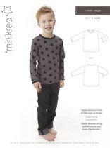 Minikrea - 50200, Schnittmuster T-Shirt