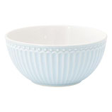 GreenGate - Cereal bowl Alice, pale blue