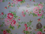 Cath Kidston Oilcloth, Spray Flower blue