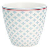 GreenGate - Latte cup, Sasha blue