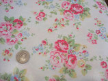 Cath Kidston Oilcloth, Spray Flower white