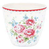 GreenGate - Latte cup, Tess white