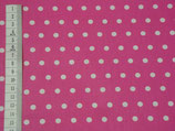 Laminated Cotton - Dots Pink