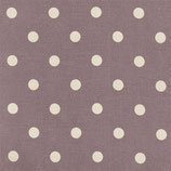 Au Maison - Oilcloth Dots Big, Misty Rose