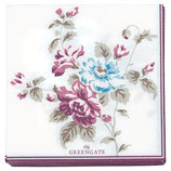 GreenGate - Small Paper Napkin, Maude white