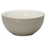 GreenGate - Cereal bowl Alice, warm grey