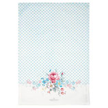 GreenGate - Tea towel, Marie pale grey