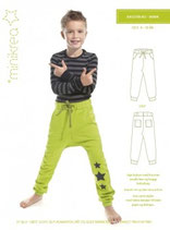 Minikrea - 30304, Schnittmuster Baggy Pants