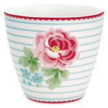 GreenGate - Latte cup, Lily white