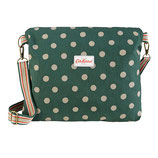 CK - Button Spot & Mews Ditsy Reversible Folded Messenger Bag