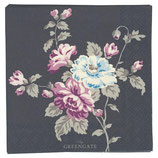 GreenGate - Small Paper Napkin Maude, dark grey