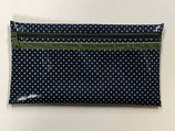 Masken Necessaire - Dots. Midnight Blue