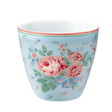 Greengate - Latte Cup, Marley pale blue