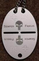 Punisher Schädel / Semper Fidelis