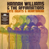 Hannah Williams & The Affirmations ‎– Late Nights & Heartbreak (signed / autogram)