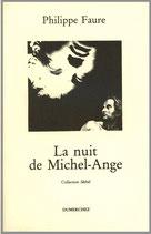 La Nuit de Michel-Ange - Philippe Faure / Illustration de couverture de Jean-Noël Duru