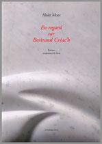 En regard sur Bertrand Créac'h - Poèmes, sculptures & lavis