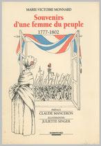 Souvenirs d'une femme du peuple