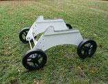 Startwagen KTW 1  für Klapp- u. Aufsatztriebwerkler mit einer Tragflächentiefe von rund 250mm am Rumpf