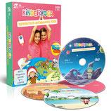 DVD BOX: Kinderyoga - spielerisch entspannte Kids (nach Konzept von Claudia Rühle)