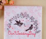 Serviette Our Wedding Day