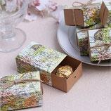 Geschenkbox Weltkarte