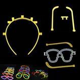 Leuchtende Partybrille