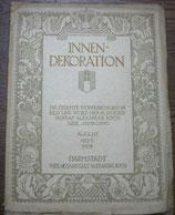 INNEN DEKORATION August 1928